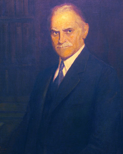 Oscar John Snyder was Philadelphia College of Osteopathic Medicine's first president.